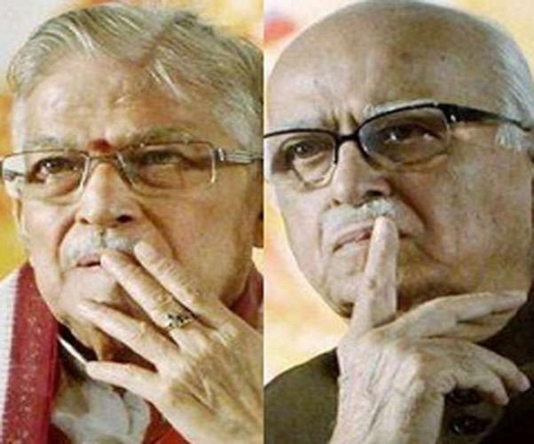 भाजपा ने तीसरे और चौथे चरण के स्टार प्रचारकों की सूची में आडवाणी-जोशी का नाम नदारद