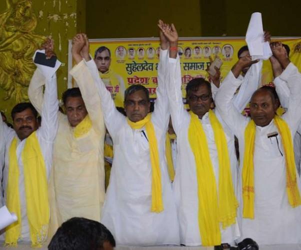 NDA का साथ छोड़ा ओम प्रकाश राजभर ने पूर्वांचल की 25 सीट पर पार्टी लड़ेगी चुनाव