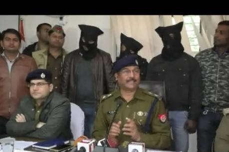 गाजियाबाद जिले मे फर्जी क्राइम ब्रांच पुलिस बनकर हाइवे पर लूटने वाले 3 शातिर बदमाश गिरफ्तार