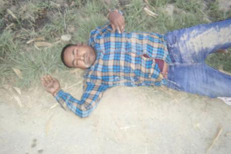 आजमगढ़ पुलिस मुठभेड़ में गिरफ्तार हुआ 50 हजार का इनामी बदमाश