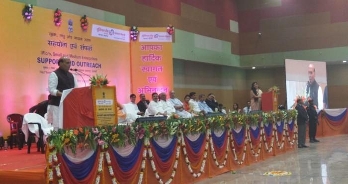 वाराणसी मे  बोले गृहमंत्री राजनाथ सिंह- आज का दिन देश की अर्थव्यवस्था के लिए महत्वपूर्ण