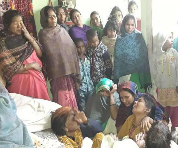 संतकबीरनगर मे शार्ट सर्किट से लगी आग, मां और दो बेटों की मौत