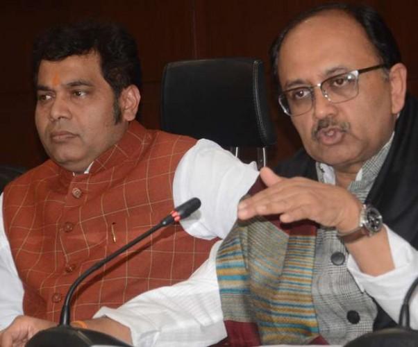 यूपी सरकार के प्रवक्ताओं ने कहा राफेल सौदे को लेकर राहुल के झूठ की बुनियाद पर बन रहा पुल ढह गया