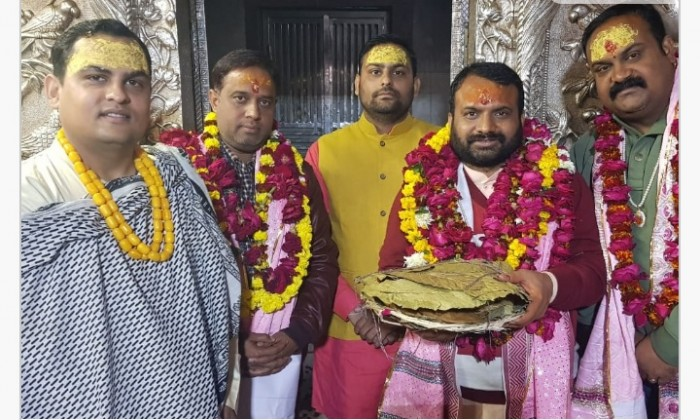 मथुरा के व्रन्दावन मैं ड्रा चंद्रमोहन कहा 2019 में फिर प्रचंड बहुमत से आएगी भाजपा की सरकार
