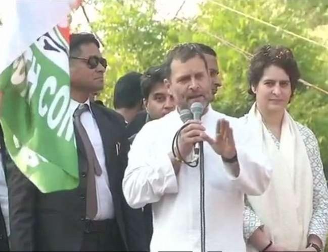 राहुल गांधी कहा- चौकीदार चोर है, अबकी बार यूपी में कांग्रेस की सरकार