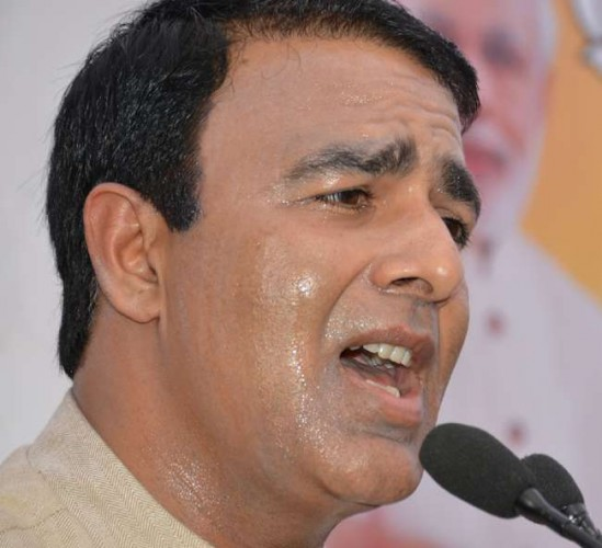 भाजपा के सरधना विधानसभा क्षेत्र से विधायक बोले, एएमयू में देश विरोधी काम करने वाला एक-एक व्यक्ति जाएगा जेल