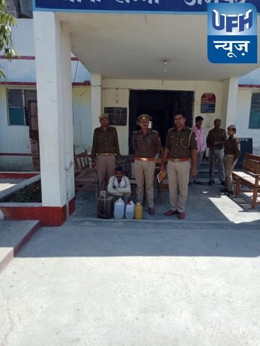 खन्ना पुलिस को मिली एक बड़ी सफलता ,अवैध शराब में एक  गिरफ्तार