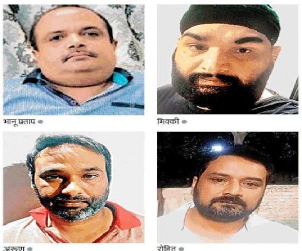 मेरठ में पुलिस कस्टडी से फरार होने के मामले में केपीएस के मालिक भानू प्रताप की मदद से भागा था बद्दो