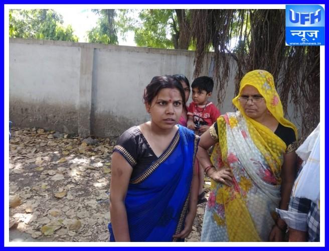 अलीगढ़-:महिला ने एसएसपी से न्याय की लगाई गुहार