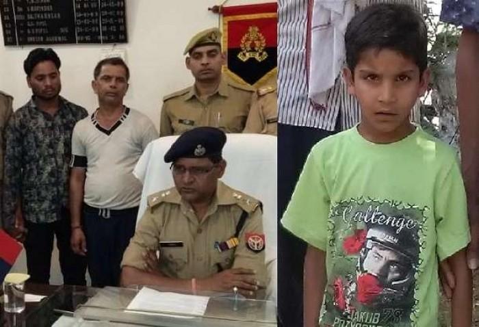 कानपुर देहात से मासूम के अपहरण दिल्ली ले जा रहे रिश्तेदार को पुलिस ने पुखरायां स्टेशन से पकड़ा