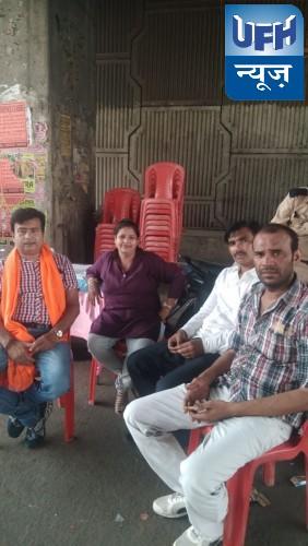 हिंदू समन्वय समिति ने  कानपुर में यशोदा नगर चौराहे पर शरबत वितरण किया