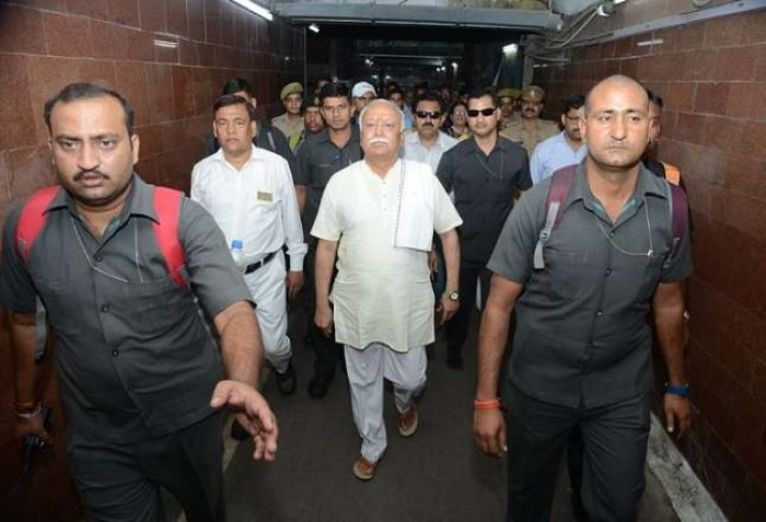 सरसंघ चालक मोहन भागवत कानपुर पहुंचे चार दिन तक करेंगे प्रवास
