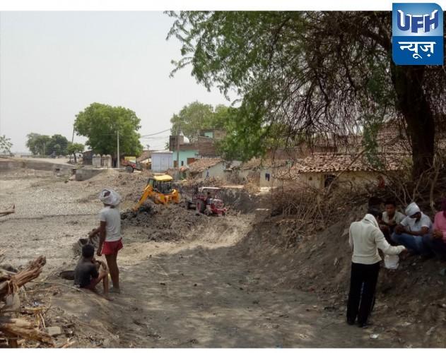 हमीरपुर मौदहा जिलाअधिकारी के तमाम प्रयासों के बावजूद खनन थमने का नाम नहीं ले रहा है
