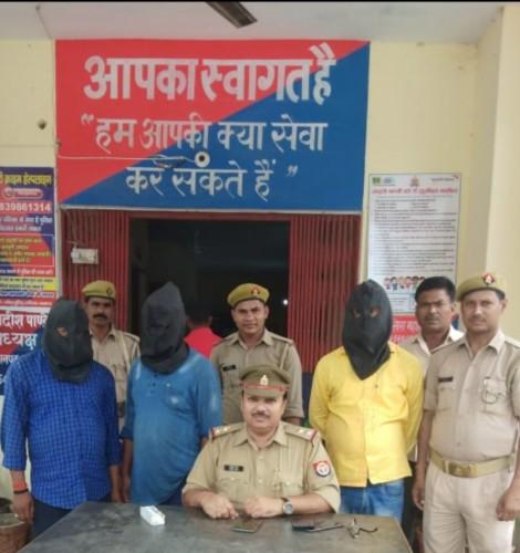 निगोहां बाजार में अपहरण किए गए युवक को पुलिस ने सकुशल बरामद कर आरोपियों को भेजा जेल