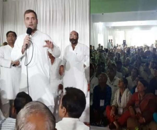 समीक्षा बैठक में राहुल गांधी ने कहा नहीं छोड़ूंगा अमेठी, आता रहूंगा