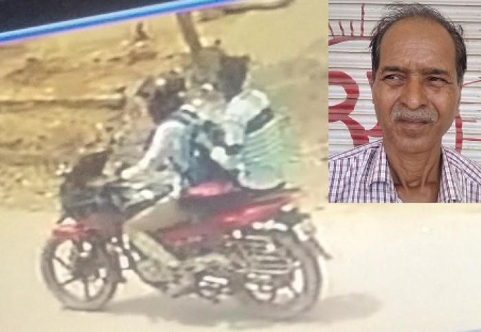 कानपुर मे दुकान का शटर खोल रहे सराफ का बैग छीन ले गए लुटेरे