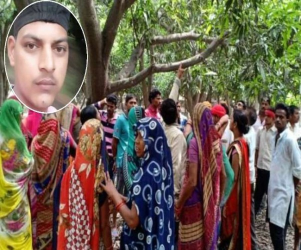 लखनऊ के काकोरी में पेड़ से लटकता मिला युवक का शव, गर्लफ्रेंड के परिवार पर उठ रही शक की सुई