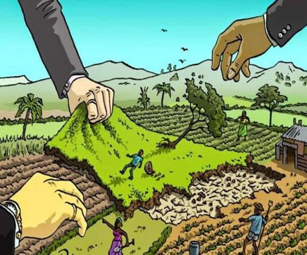 भूमि अधिग्रहण को लेकर आवास विकास परिषद के खिलाफ किसानों ने भरी हुंकार