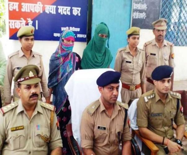 राजधानी में इनामी योजना और भूत-प्रेत के साए का डर दिखाकर ठगी करने वाला लेडी गैंग की दो महिला गिरफ्तार
