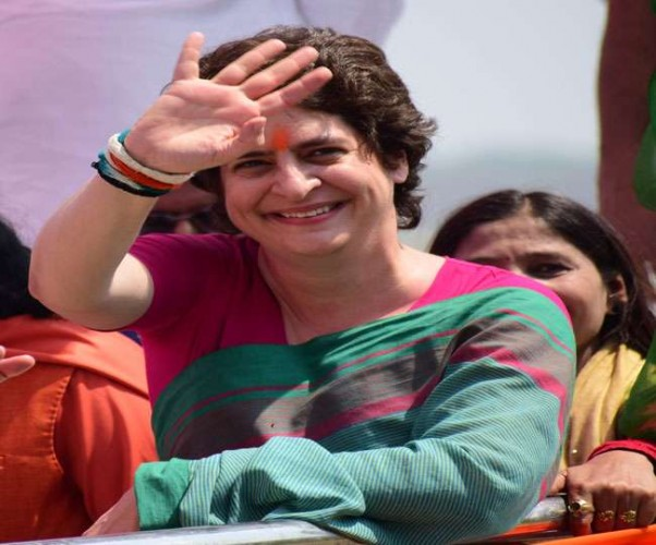 चुनाव में हार के बाद प्रियंका वाड्रा कांग्रेसियों में फूंकी नई जान