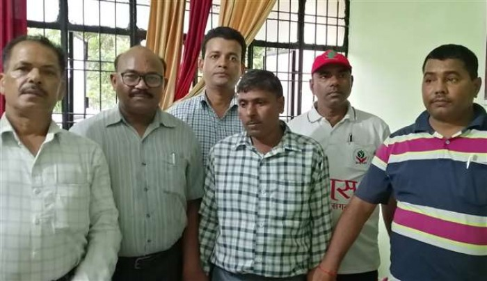 जेई को एंटी करप्शन की टीम ने पांच हजार रुपये रिश्वत लेते समय किया गिरफ्तार