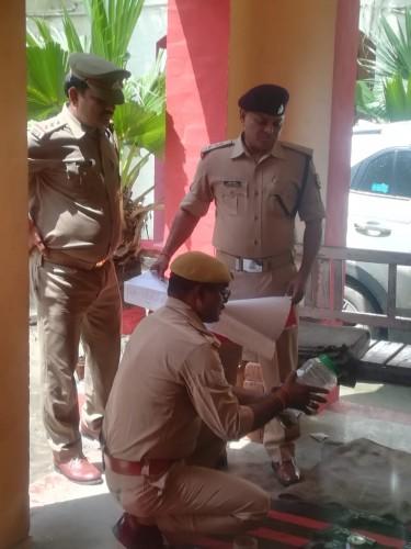 अपर पुलिस अधीक्षक ने लम्बित विवेचनाओ  को जल्द से जल्द निपटाने का दिया आदेश