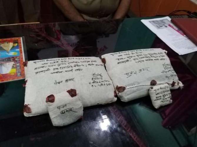 चंदोली के पीडीडीयू नगर जंक्शन से साढ़े तीन करोड़ की अफीम बरामद, एक आरोपी गिरफ्तार