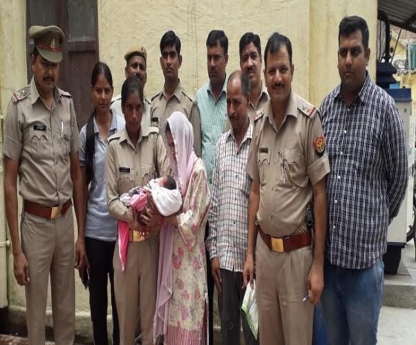 सहारनपुर में एक महिला ने नवजात शिशु का सौदा चालीस हजार रुपये में कर दिया