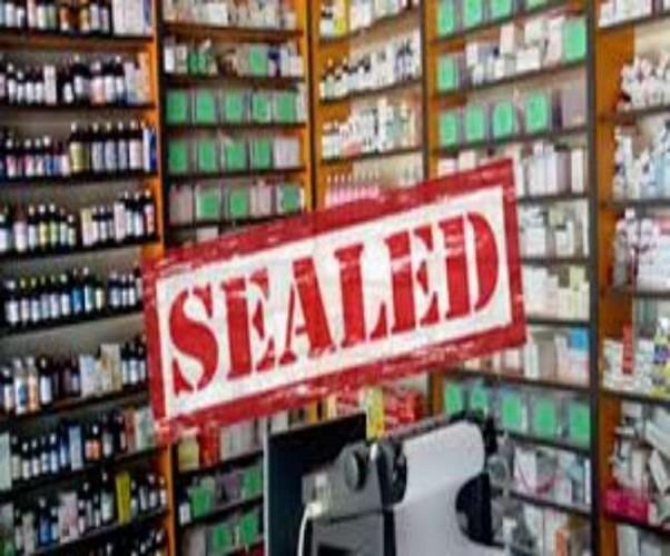 राजधानी मे एफएसडीए ने नारकोटिक्स दवाओं की बिक्री में गड़बड़ी पाई आठ मेडिकल स्टोर के लाइसेंस निलंबित