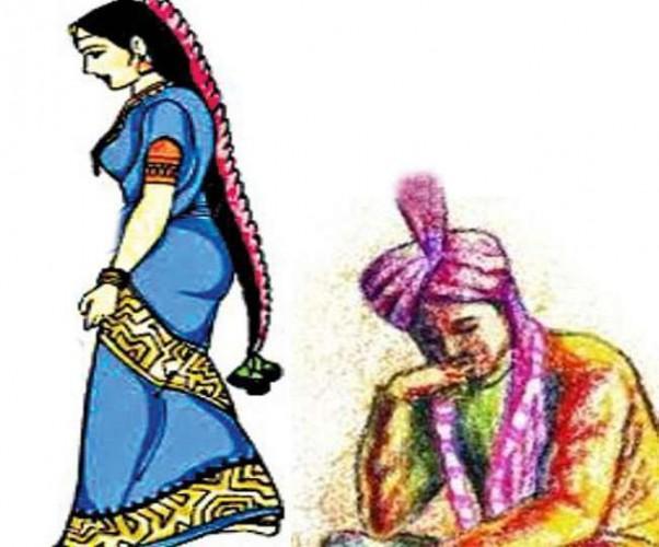 चंदोली मे 50 की उम्र में भतीजे से रचाई शादी, पुलिस बनी साक्षी