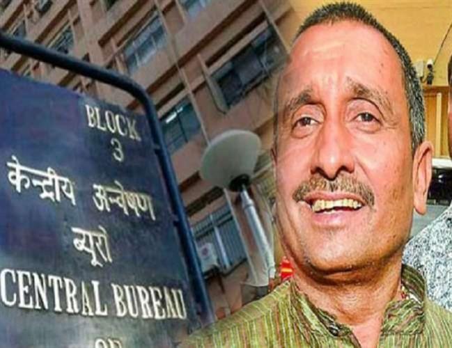 बांगरमऊ विधायक कुलदीप सिंह सेंगर पर आरोप तय