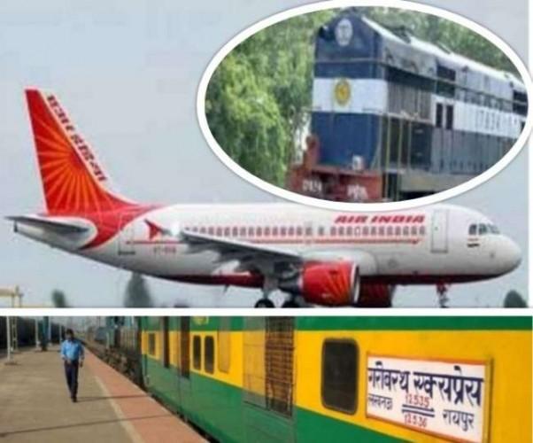 बकरीद और 15 अगस्त के साथ रक्षा बंधन की छुट्टी के कारण विमान फुल, ट्रेनों में भी वेटिंग बढ़ी