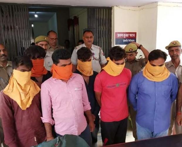 चित्रकूट मे कथित भाजपा नेता निकला एटीएम लुटेरों का सरगना