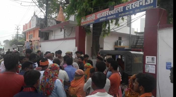 बीजेपी पार्षद  संतोष कुमार राय की दबंगई चरम पर