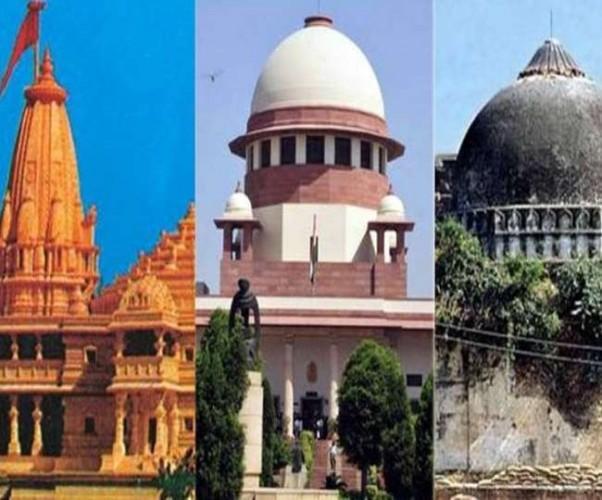 रामलला के वकील बोले- मंदिर के अवशेषों पर हुआ था विवादित ढांचे का निर्माण