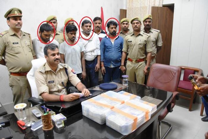 गांजा-भांग की तस्करी करने वाला गिरोह चढ़ा पुलिस के हत्थे, चार गिरफ्तार, लाखो कैश बरामद