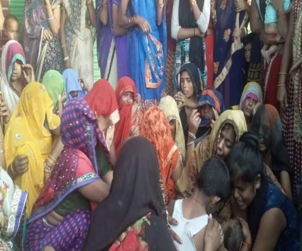 फीरोजाबाद के जसराना क्षेत्र मे पानी से भरी बाल्टी में गिरा आठ माह का मासूम, मौत