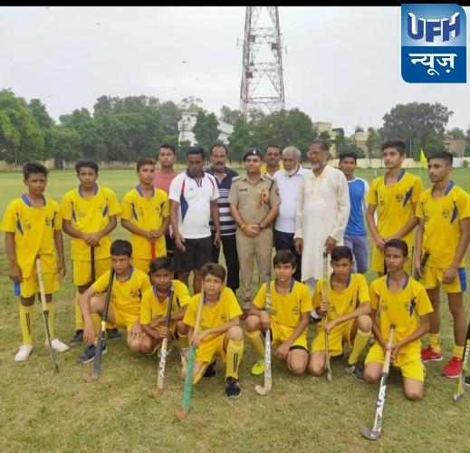 मौदहा, रायल एकेडमी मौदहा ने एनडीपीएस (हमीरपुर) से 3-1 से जीता फाइनल