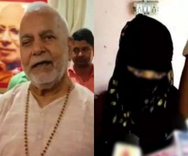 स्वामी चिन्मयानंद केस में वायरल हुआ एक और वीडियो, रंगदारी से जुड़ा होने का दावा