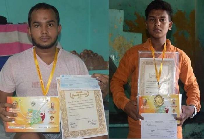 मुख्यमंत्री से मेधावी छात्र-छात्राओं को मिले चेक बाउं समातहत करा रहे प्रदेश सरकार की किरकिरी
