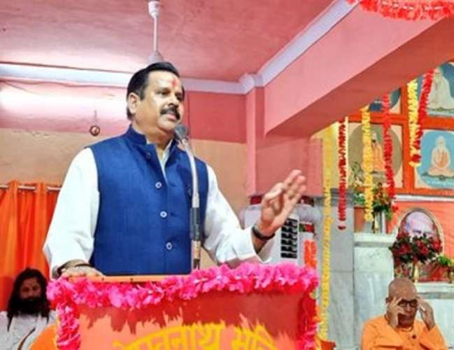 मंत्री डॉ. महेंद्र सिंह ने कहा उत्तर प्रदेश में जल प्रदूषित करने पर लगेगा जुर्माना जेल भी भेजा जाएगा