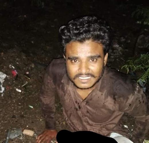 फजलगंज पुलिस ने पचीस हजार इनामी बदमाश मेराज उर्फ भैया का किया हाफ इनकाउंटर