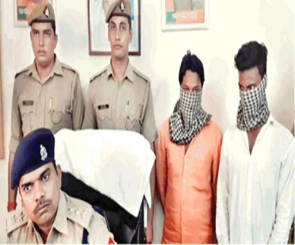 लखनऊ में पारा थाने की पुलिस ने दो जालसाजों को किया गिरफ्तार