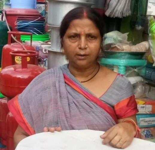 जिला वाराणसी में दिनदहाड़े असलहा सटाकर दुकान से महिला की चेन और अंगूठी की हुई लूट