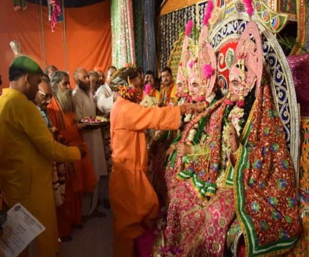 मुख्यमंत्री योगी आदित्यनाथ ने कहा हर युग में हैं रावण...श्रीराम के आदर्श देते हैं विपरीत परिस्थितियों में जीने की प्रेरणा
