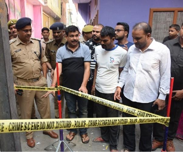 फर्रुखाबाद में भाजपा विधायक मेजर सुनीलदत्त द्विवेदी के आवास के पास विस्फोट, लोगों में दहशत