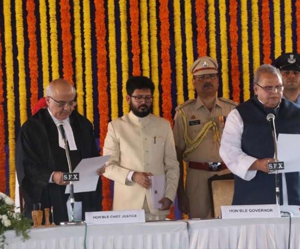 मलिक ने ली गोवा के राज्यपाल पद की शपथ, कहा- जम्मू-कश्मीर अब अच्छी और शांतिपूर्ण जगह