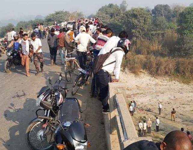 तिर्वा-सुजानसराय रोड पर युवती की हत्या कर ईशन नदी पुल के नीचे फेंका शव