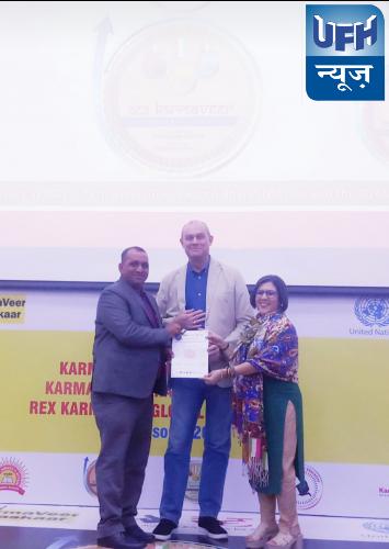 कर्मवीर चक्र अवार्ड से सम्मानित हुए दिल्ली के श्री कर्मवीर सिंह