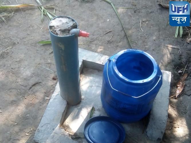 गड्डीपुरवा में ग्राम प्रधान की मनमानी के चलते नहीं हो पा रही पानी टंकी सप्लाई।